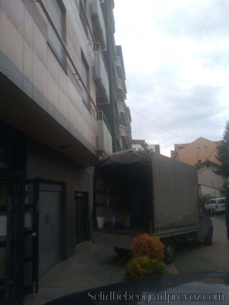 Selidba Lokala Kamionoma Novi Beograd