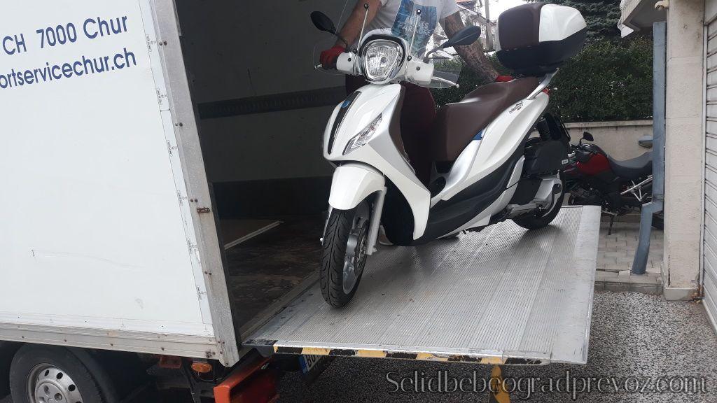 Prevoz Motora Skutera Beograd