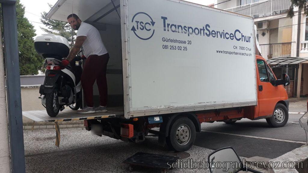 Prevoz Motora Kamionom