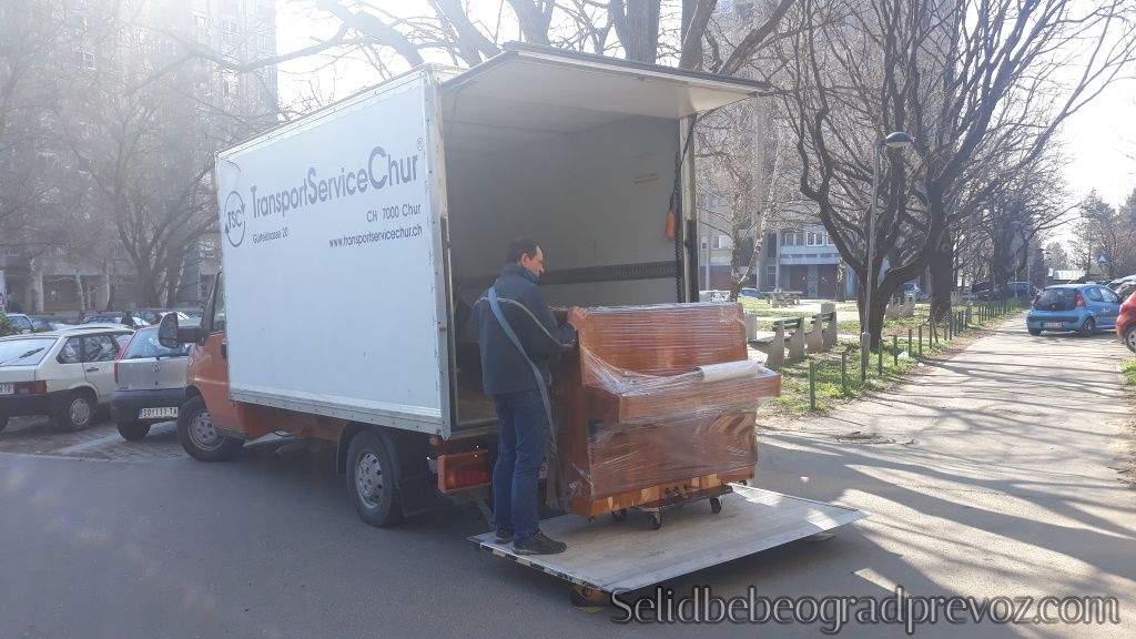 Prevoz Selidba Klavira Beograd