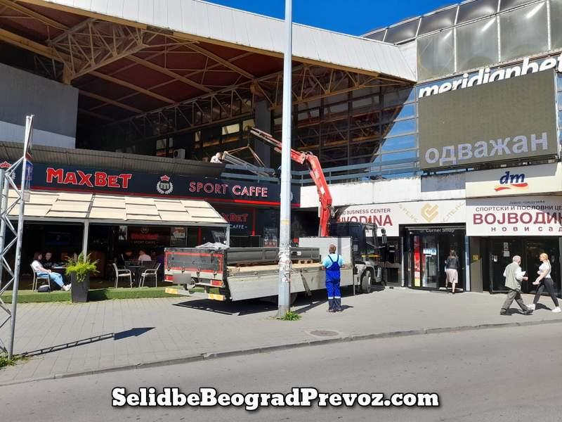 Prevoz Specijalnih Tereta Beograd Novi Sad