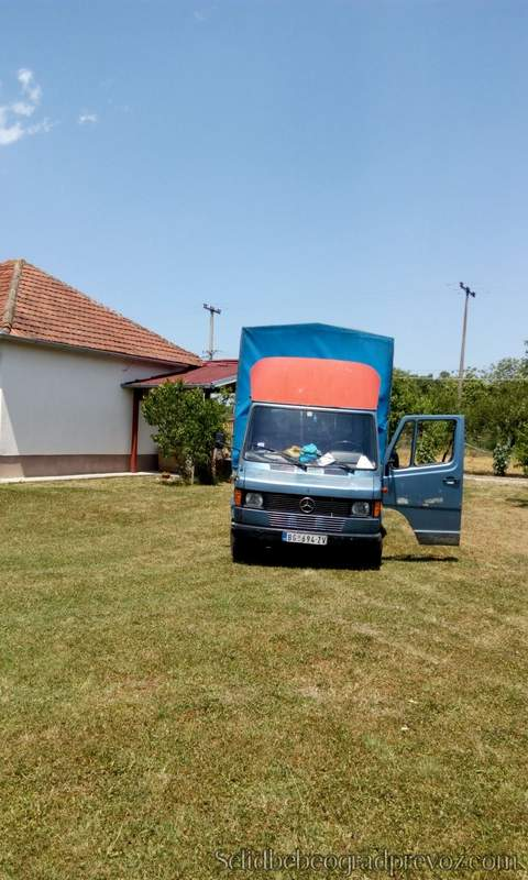 Selidbe kuca kamionom Beograd mladenovac
