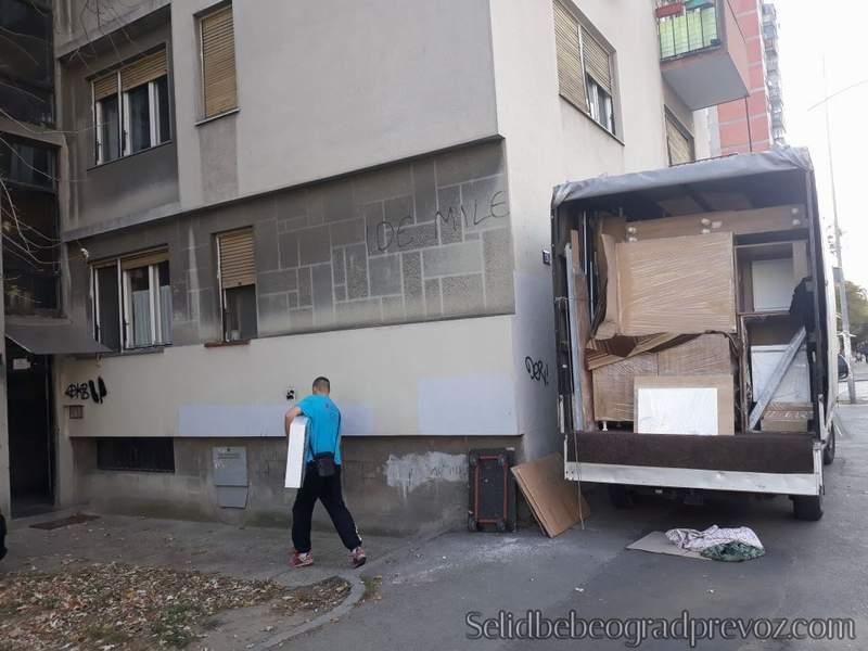 Selidbe Kamionom Beograd Novi Sad
