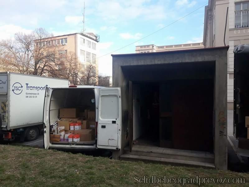 Selidbe Magacina Novi Beograd