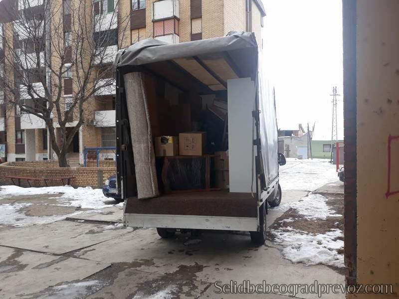 Selidbe Stanova Najjeftinije Beograd