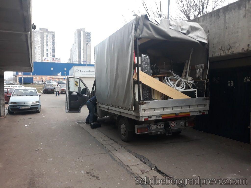 Selidba Stanova Kamionom Novi Beograd