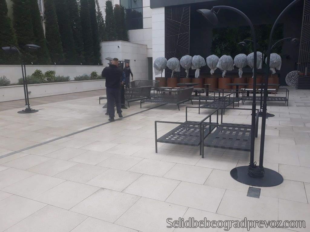 Selidba Kamionom Bašta Hotela Beograd
