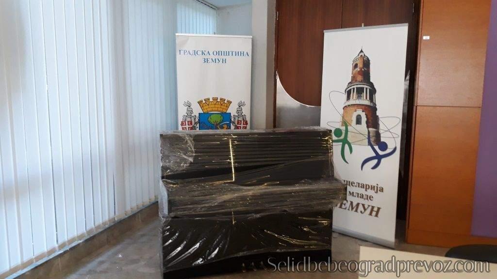 Selidba Gradske Opštine Zemun Klavira