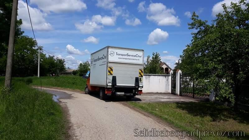 Selidba Kamionom Kuća Vikendica Obrenovac