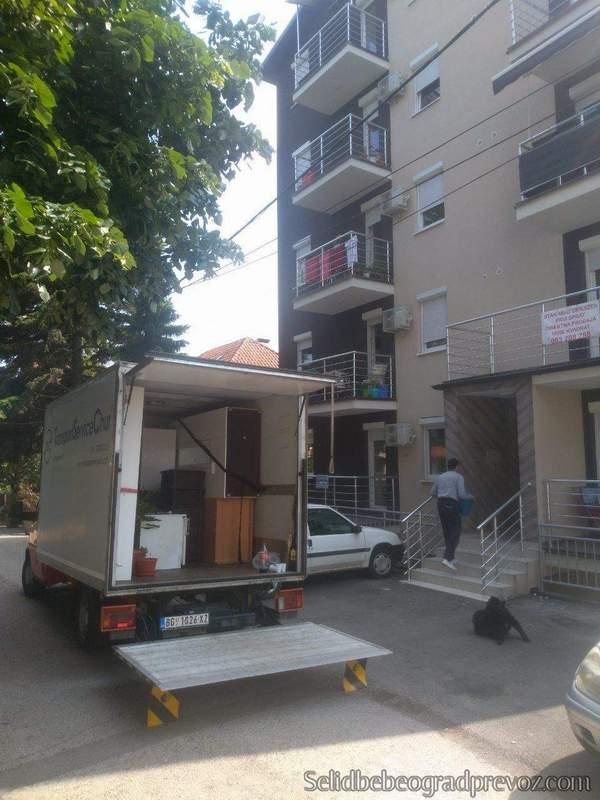 Transport Kamionom Novi Beograd