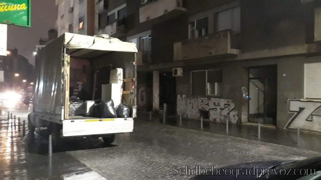Transport Robe Kamionom Centar Beograd