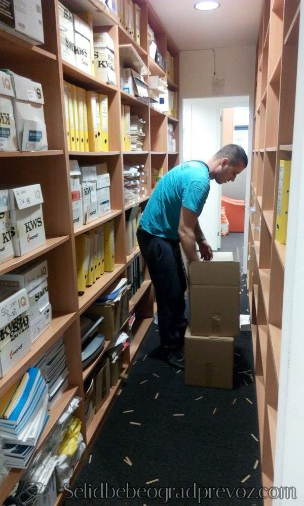 selidba arhive pakovanje