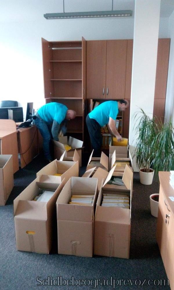 selidba firme komlet pakovanje zaštita